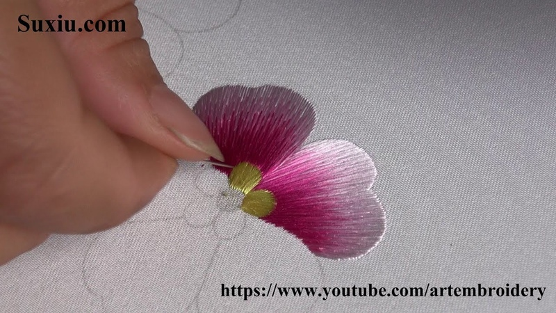 Hand Embroidery for beginner chinese suzhou embroidery Art broderie 刺繍
