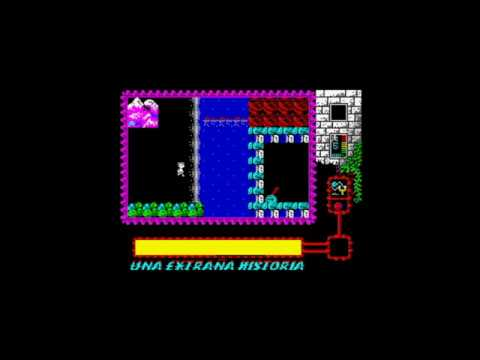 Una Extrana Historia (2014) Walkthrough, ZX Spectrum