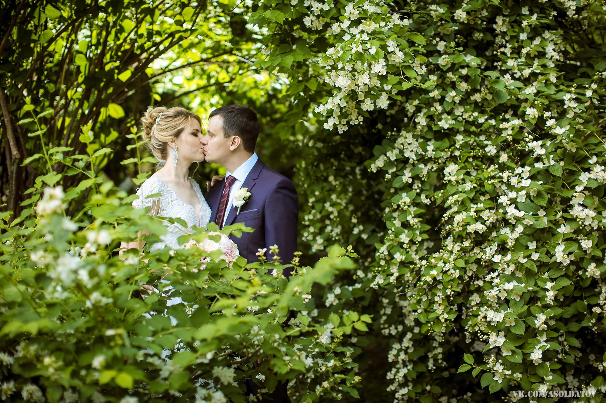 Свадебная фотосессия в ботаническом саду. Пенза.