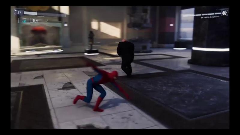 Marvel Spiderman прохождение без коминтариев часть 1
