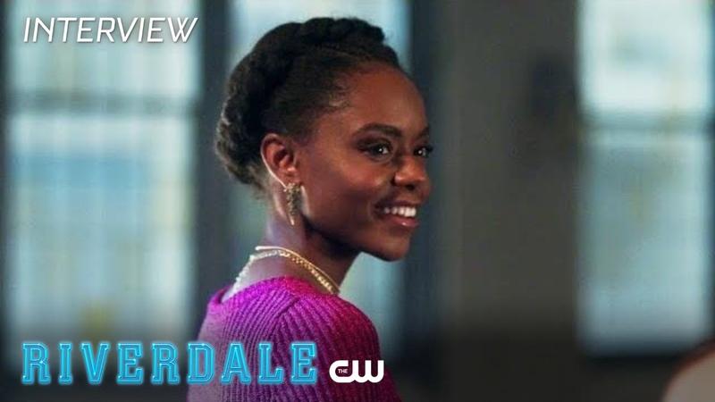 Riverdale | Ashleigh Murray Interview: Season 2 - Milkshake Moments | The CW