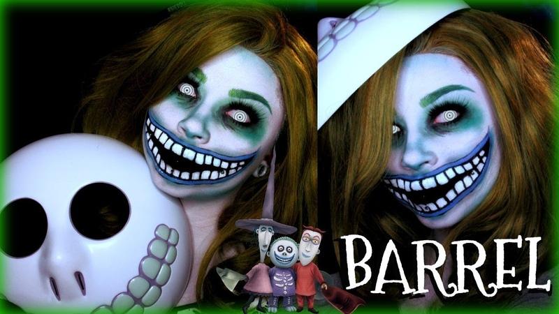 BARREL from Lock, Shock, and Barrel Trio TNBC Halloween Makeup Tutorial | Sydney Nicole