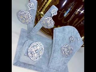 Набор из серебра 925 пробы. Доставка по всему Миру. Цена: 5600 рубл.