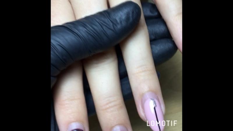 Ноготкам больше месяца 😊 Комби маникюр, коррекция ногтей покрытие гель лак (шеллак) Маникюр, гель лак, дизайн Темрюк💅💅💅