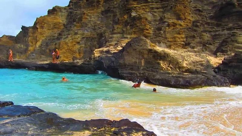 Halona Beach Cove - Oahu, Hawaii