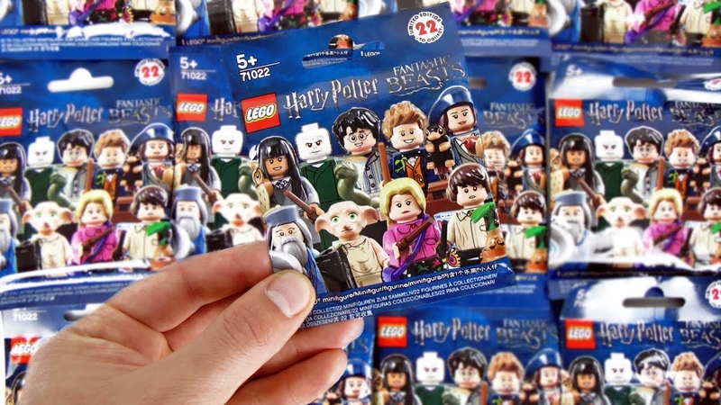 LEGO Harry Potter Fantastic Beasts Minifigures NEW 2018! СЮРПРИЗЫ ЛЕГО Минифигурки Гарри Поттер