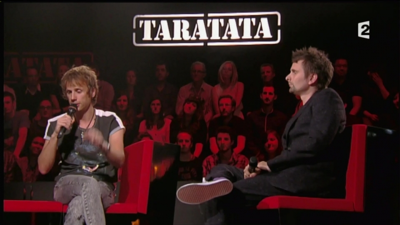 Muse at Taratata 2012
