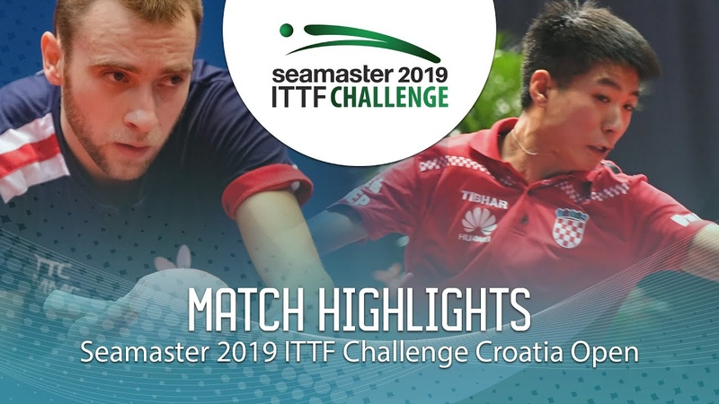 Wei Shihao vs Alexander Shibaev | 2019 ITTF Challenge Croatia Open (R32)