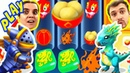 БолтушкА и ПРоХоДиМеЦ Открыли Новых ДРАКОНОВ и Мини ИГРУ! 171 Игра для Детей - Дракономания
