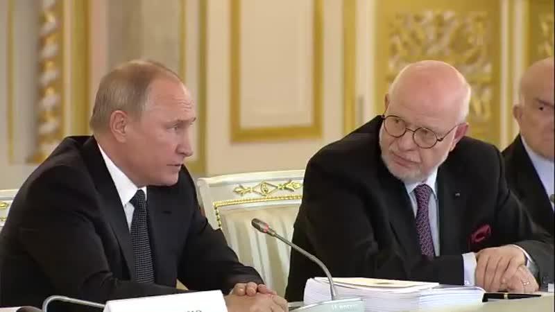 Для чего Путину СПЧ Для того,чтобы в собрании интеллигентных и обеспокоенных людей подавать кафкианские реплики и травить байки