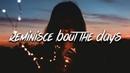 Pettros x Croosh - Reminisce Bout The Days (Lyrics / Lyric Video)