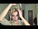 Коса КОРОНА Вечерняя причёска за несколько минут