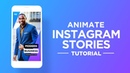 Animate Instagram Story in After Effects - After Effects Tutorial