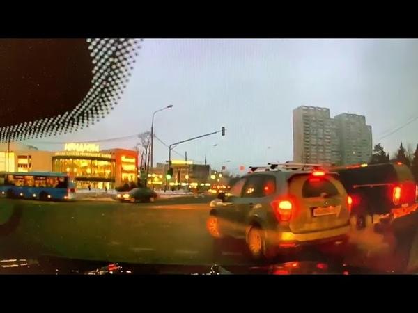 ДТП. Зеленоград. Мазда БТ-50 vs Ниссан Альмера. 12.02.2019