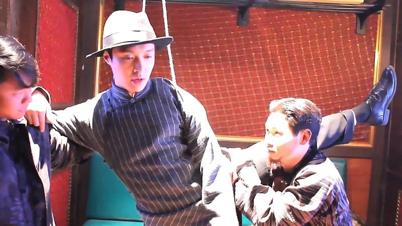 160719 《老九门》彩蛋 Mystic Nine Train Fight Behind the Scene 张艺兴 Zhang Yixing LAY
