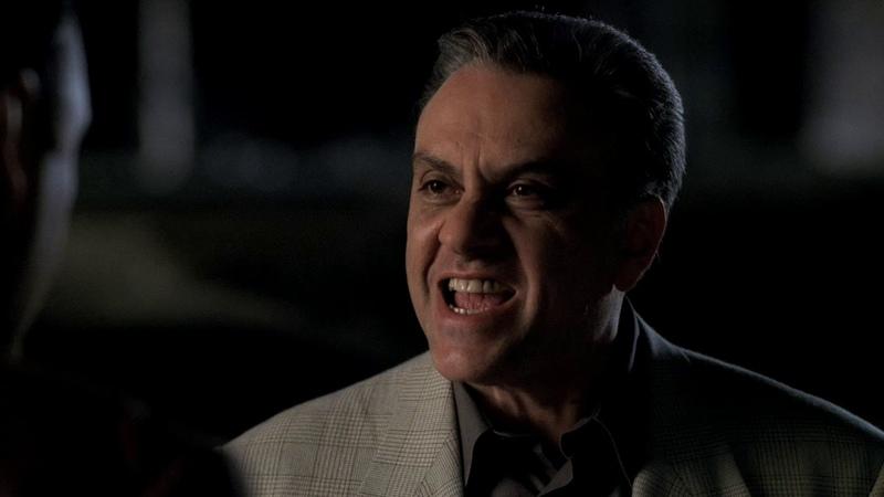 The Sopranos Клан Сопрано Разговор по душам Джонни и Тони