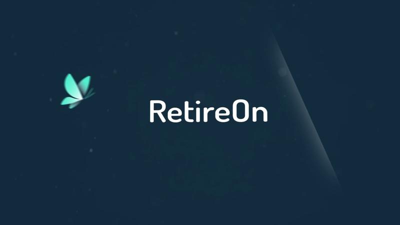 Retire On Logo Animation