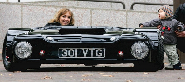 Самый низкий автомобиль в мире!