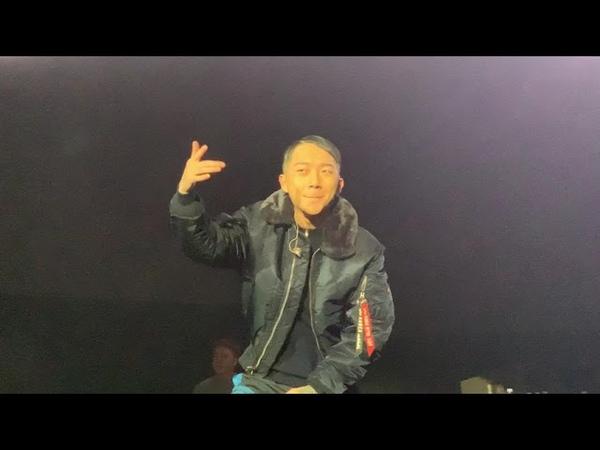 190120 우원재 (Woo Won Jae) - 폰 phone (Feat. Hoody) (4K 60 FPS FANCAM) [ABOVEORDINARY TOUR 2019]