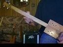 Cigar Box GUITAR Heavy Phaser Flanger Jam 3 String Fretless Slide Homemade CBG Blue Rock Riff
