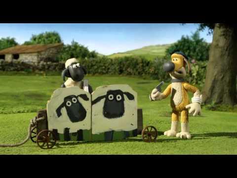 Позитивные мультики из Великобритании Для детей и взрослых Смотреть на ночь можно Сериал Барашек Шон Shaun the Sheep Bitzer's Basic Training или Однажды с учебником для собак