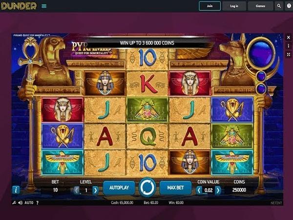 Www.Dunder Casino