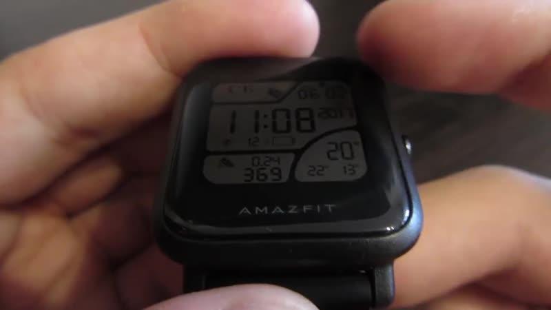 [Coldfield] Смарт-часы Amazfit Bip: распаковка и обзор ❆ Unboxing review