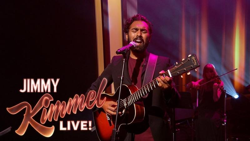 Himesh Patel Yesterday Jimmy Kimmel Live
