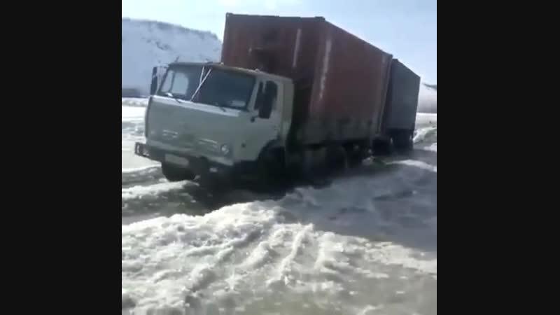 КамАЗ 5320 На Зимнике