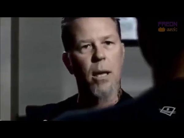 Джеймс Хэтфилд (Metallica) о том, как важно было сохранить группу (русская озвучка)