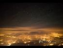 Perseids Meteor Shower 2018 4K Pilots View Time Lapse (Flight Deck)
