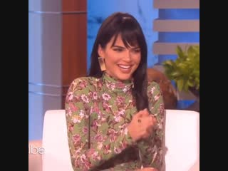 Faces! - kendal jenner on ellen show