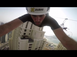Flips On The Tallest Building In the World - Dubai Parkour Adventure
