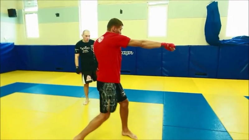 3 варианта двоечки Школа бокса Руслана Акумова