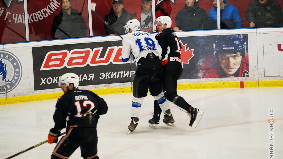 студенческая хоккейная лига, чайковский район, 2019 год, 40+
