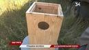 На Днепропетровщине начали устанавливать устройства для защиты птиц на линиях электропередач