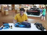 Подробный ОБЗОР LEGO Technic 42083 Bugatti Chiron за 30000 руб_ Не нужна тебе такая машина, брат