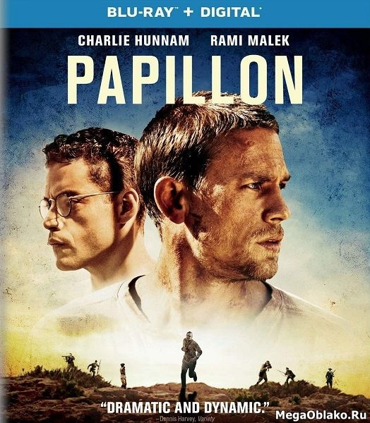 Мотылек / Papillon (2017/BDRip/HDRip)