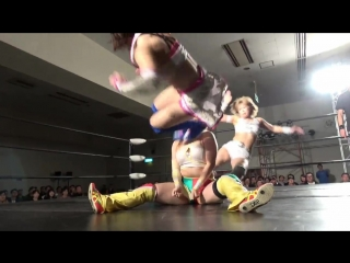 Hiromi Mimura & Konami vs. Jungle Kyona & Yoko Bito - Stardom Goddesses Of Stardom Tag League 2017 - Tag 4