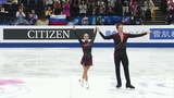 Евгения Тарасова иВладимир Морозов установили мировой рекорд. Короткая программа. Пары. Чемпионат мира пофигурному катанию 2019