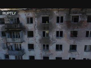 Акармара с высоты птичьего полёта: живописные руины абхазского города-призрака