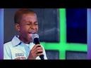 ADENILSON CALAZANS Agnus Dei Jovens Talentos Kids Raul Gil 15 03 14