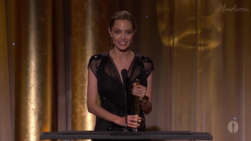 Речь Анджелины Джоли На Вручении Оскара