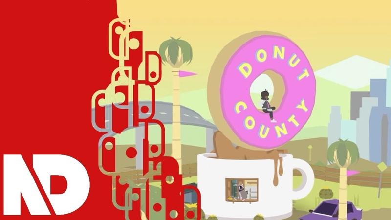 [eShop JP] Donut County - Gameplay Walkthrough