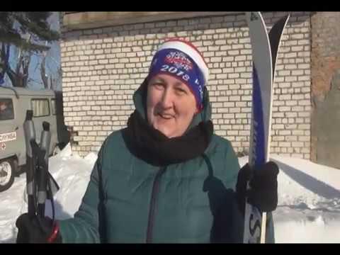 Лыжня России 2019 в пос. Баранчинском