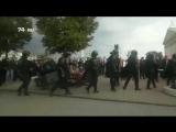 Челябинский ОМОН отказался участвовать в разгоне протестующих граждан и уходил под аплодисменты.