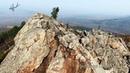 UHD(4k) Гора Саханай с птичьего полета. Забайкалье.