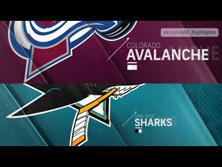 Colorado Avalanche vs San Jose Sharks Apr 6, 2019 HIGHLIGHTS HD