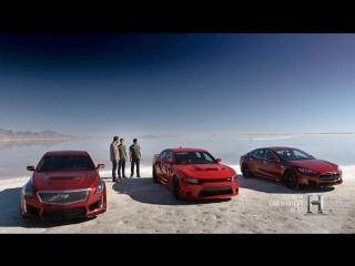 Top Gear America - Tesla Model S P90D; Dodge Charger SRT Hellcat; Cadillac CTS-V (2016)