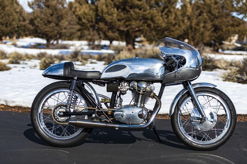 Кафе рейсер Ducati Sebring 350 1965
